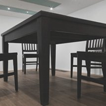 Robert Therrien: No Title (Table and Four Chairs) |  Metropolitan Arts Centre (The MAC)  10 Exchange Street West Belfast BT1 2NJ | Friday 20 April to Sunday 22 July 2012 | to