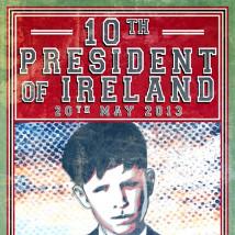 Seamus Nolan: 10th President |  Temple Bar Gallery & Studios  5 - 9 Temple Bar Dublin 2 | Friday 12 April to Saturday 8 June 2013 | to