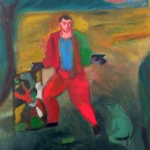 Sandro Chia: Dipinti e Acquerelli |  Hillsboro Fine Art  49 Parnell Square West Dublin 1 | Thursday 1 May to Saturday 31 May 2014 | to