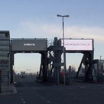 Cliona Harmey: Dublin Ships |  Scherzer Bridges North Wall Quay Dublin 1 | Tuesday 3 February to Friday 31 July 2015 | to