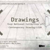 Drawings from National Collection of Contemporary Drawings / LCGA |  Limerick City Gallery  Pery Square, Limerick | Friday 3 April to Friday 15 May 2015 | to