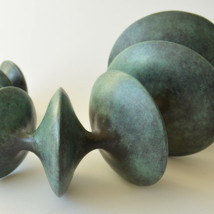 Vivienne Foley: The Attraction of Opposites: Bronze and Porcelain |  Solomon Fine Art  Balfe Street Dublin 2 | Friday 15 January to Saturday 6 February 2016 | to