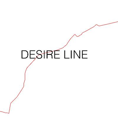 Desire Line | Golden Thread Gallery  84-94 Great Patrick Street Belfast BT1 2LU | Thursday 25 February to Saturday 16 April 2016 | to