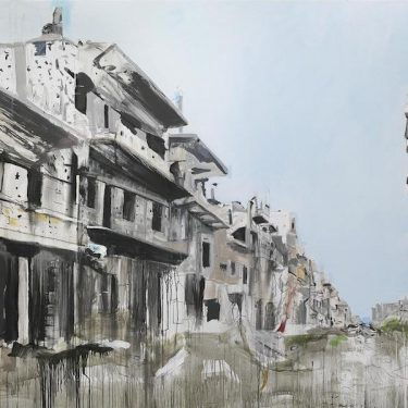Brian Maguire: War Changes Its Address: The Aleppo Paintings |  IMMA  Royal Hospital, Kilmainham Dublin 8 | Friday 26 January to Monday 7 May 2018 | to