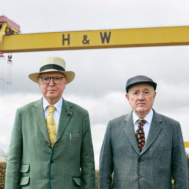 Gilbert and George: SCAPEGOATING PICTURES |  Metropolitan Arts Centre (The MAC)  10 Exchange Street West Belfast BT1 2NJ | Friday 26 January to Sunday 22 April 2018 | to