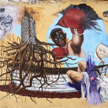 Travis Somerville: Homeland Insecurity |  Golden Thread Gallery  84-94 Great Patrick Street Belfast BT1 2LU | Saturday 4 August to Saturday 22 September 2018 | to