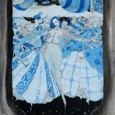 Dreaming in Blue – Harry Clarke Watercolours | Crawford Art Gallery  Emmet Place Cork | Friday 14 December 2018 to Sunday 17 February 2019 | to