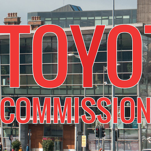 TOYOTAYA Commission: Open Call |  National Sculpture Factory   Albert Road, Cork City  |  closing date 