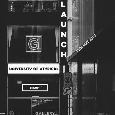 Moving Forward | Atypical Gallery  University of Atypical 109 - 113 Royal Avenue Belfast BT1 1FF | Monday 6 May to Thursday 23 May 2019 | to