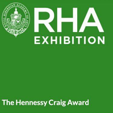 The Hennessy Craig Award |  Royal Hibernian Academy  15 Ely Place, Dublin 2 | Friday 6 September to Sunday 20 October 2019 | to