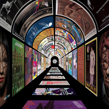 Underground Images: SVA NYC Subway Posters |  NCAD Gallery  100 Thomas Street Dublin 8 | Monday 13 January to Friday 31 January 2020 | to