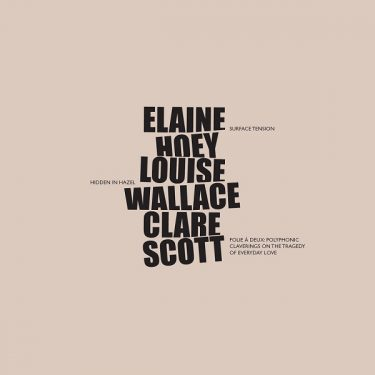 Solo Exhibitions by Elaine Hoey, Louise Wallace and Clare Scott |  Luan Gallery  Custume Place Athlone, Co. Westmeath | Saturday 15 February to Saturday 28 March 2020 | to