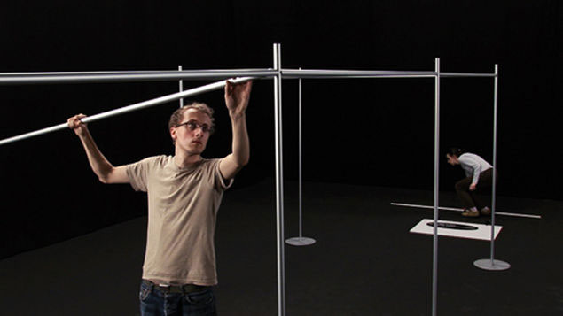 Martin Beck: About the Relative Size of Things in the Universe, 2007, HD Video installation, 16:19, 11 minutes and 58 seconds  | Exhibitions | Friday 17 September  – Saturday 13 November 2010 | Project Arts Centre
